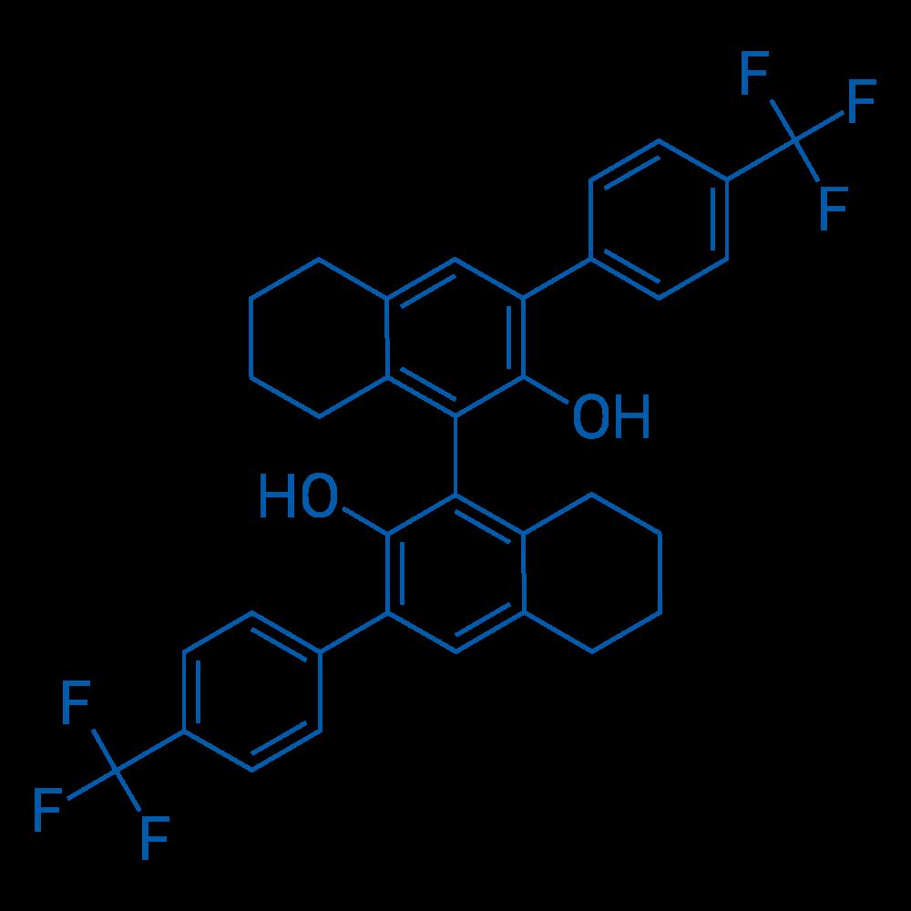 (S)-3,3'-Bis(4-(trifluoromethyl)phenyl)-5,5',6,6',7,7',8,8'-octahydro-[1,1'-binaphthalene]-2,2'-diol