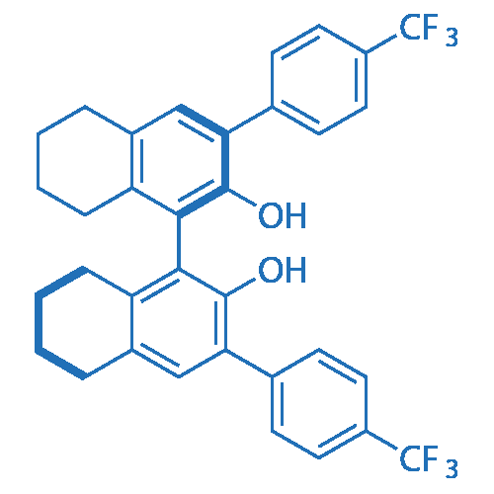 (R)-3,3'-Bis(4-(trifluoromethyl)phenyl)-5,5',6,6',7,7',8,8'-octahydro-[1,1'-binaphthalene]-2,2'-diol