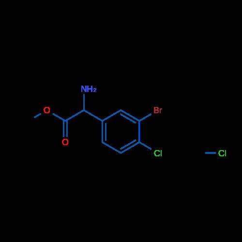 Methyl 2-amino-2-(3-bromo-4-chlorophenyl)acetate hydrochloride