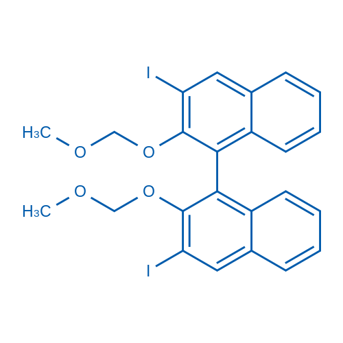3,3'-Diiodo-2,2'-bis(methoxymethoxy)-1,1'-binaphthalene