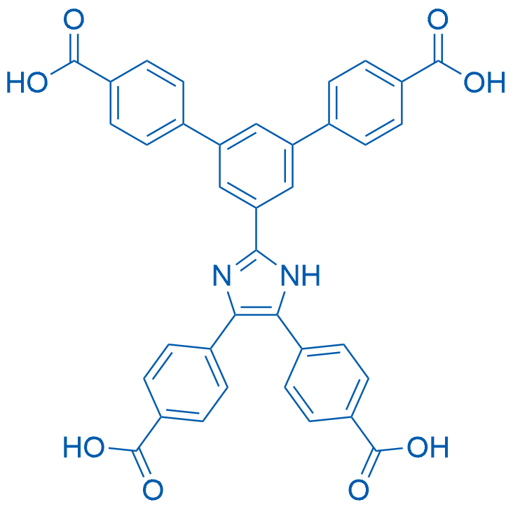 5'-(4,5-Bis(4-carboxyphenyl)-1H-imidazol-2-yl)-[1,1':3',1''-terphenyl]-4,4''-dicarboxylic acid