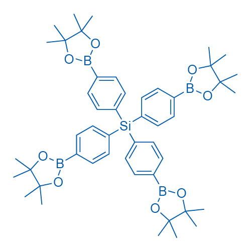 Tetrakis(4-(4,4,5,5-tetramethyl-1,3,2-dioxaborolan-2-yl)phenyl)silane