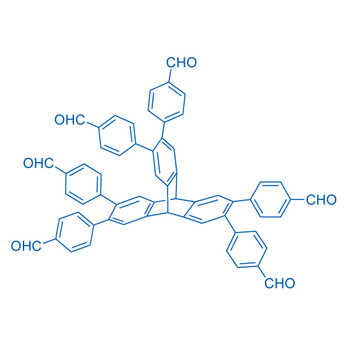 4,4',4'',4''',4'''',4'''''-(9,10-Dihydro-9,10-[1,2]benzenoanthracene-2,3,6,7,14,15-hexayl)hexabenzaldehyde
