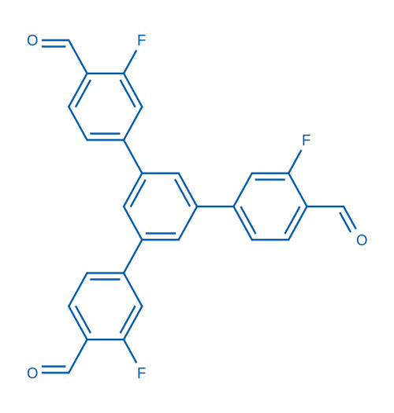 3,3''-Difluoro-5'-(3-fluoro-4-formylphenyl)-[1,1':3',1''-terphenyl]-4,4''-dicarbaldehyde