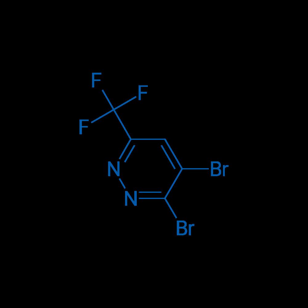 3,4-Dibromo-6-(trifluoromethyl)pyridazine