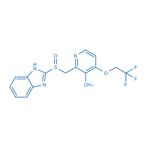 (S)-2-(((3-Methyl-4-(2,2,2-trifluoroethoxy)pyridin-2-yl)methyl)sulfinyl)-1H-benzo[d]imidazole
