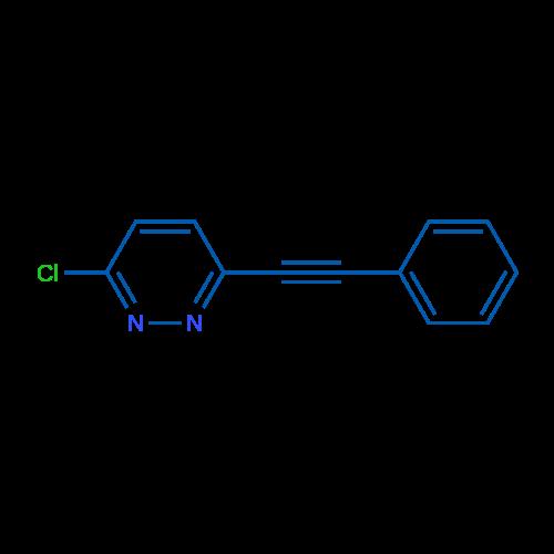 3-Chloro-6-(phenylethynyl)pyridazine