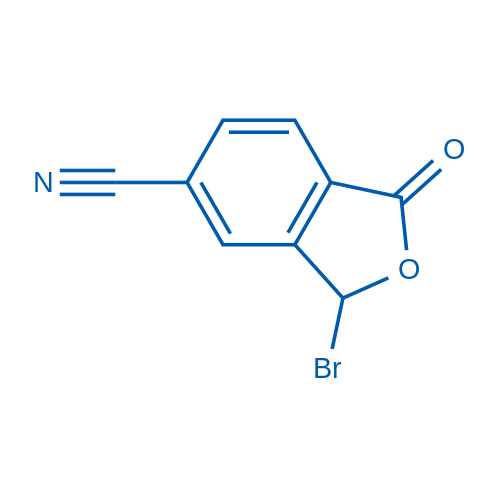 3-Bromo-1-oxo-1,3-dihydroisobenzofuran-5-carbonitrile