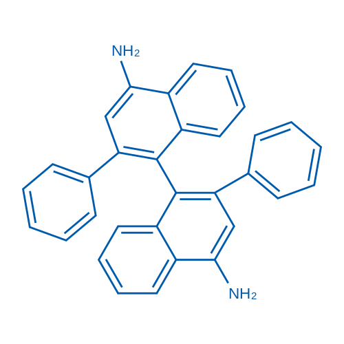 2,2'-Diphenyl-[1,1'-binaphthalene]-4,4'-diamine