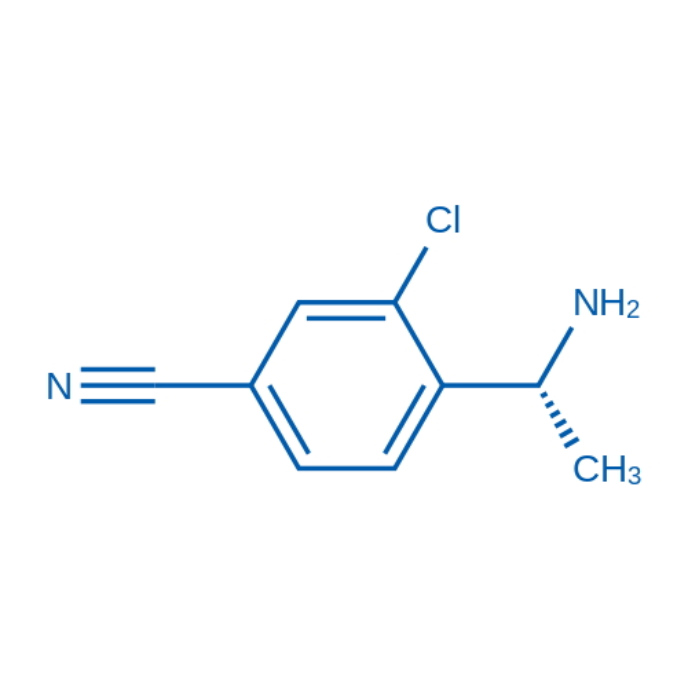 (R)-4-(1-Aminoethyl)-3-chlorobenzonitrile