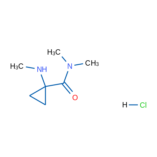 N,N-Dimethyl-1-(methylamino)cyclopropane-1-carboxamide hydrochloride