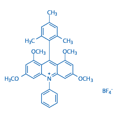 9-Mesityl-1,3,6,8-tetramethoxy-10-phenylacridin-10-ium tetrafluoroborate