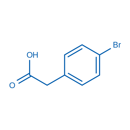4-Bromophenylacetic acid