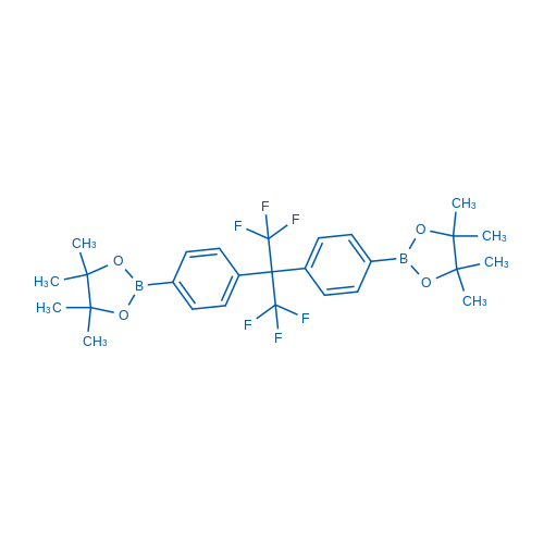 2,2'-((Perfluoropropane-2,2-diyl)bis(4,1-phenylene))bis(4,4,5,5-tetramethyl-1,3,2-dioxaborolane)
