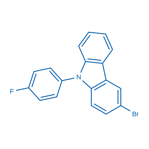3-Bromo-9-(4-fluorophenyl)-9H-carbazole