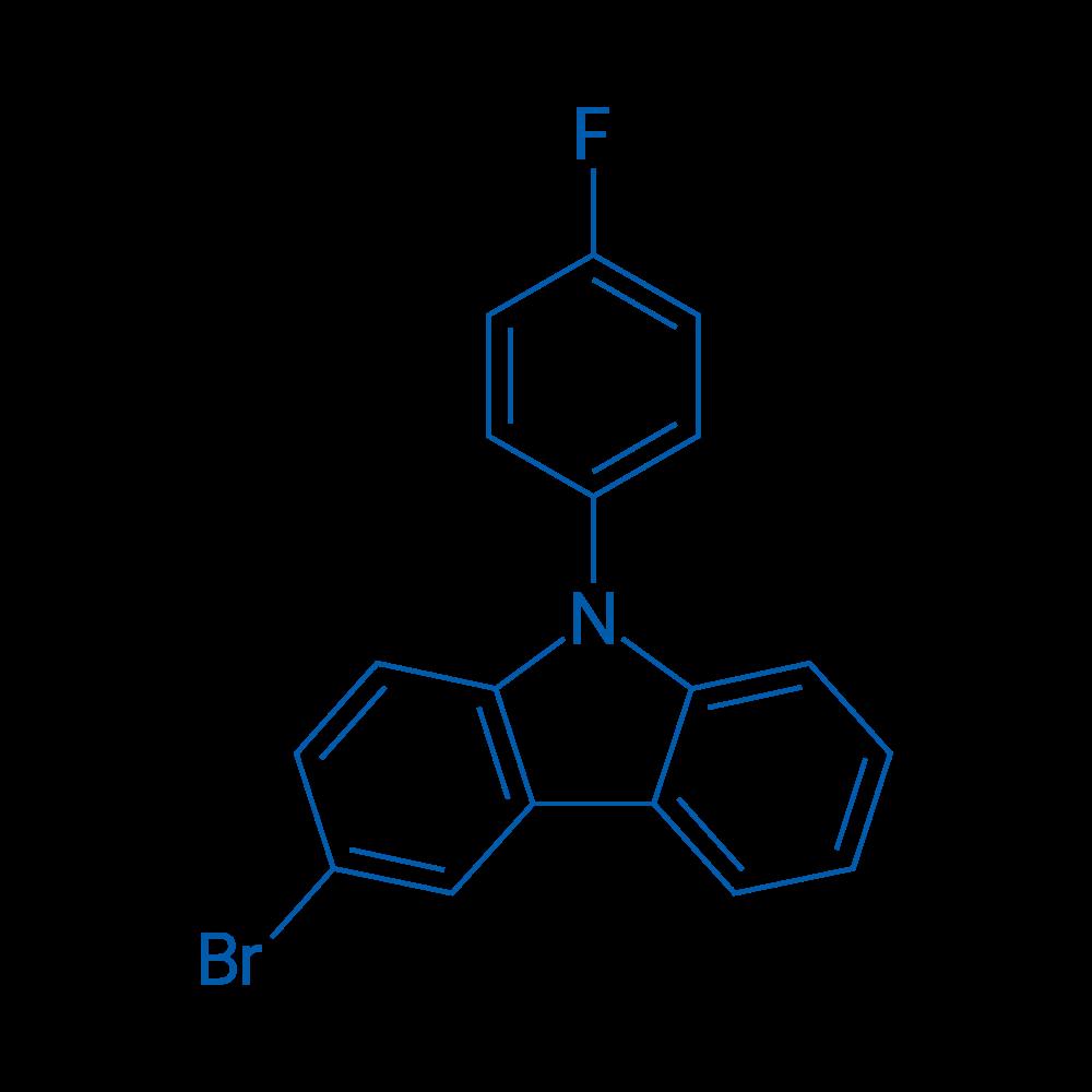 3-Bromo-9-(4-fluorophenyl)-9H-carbazole