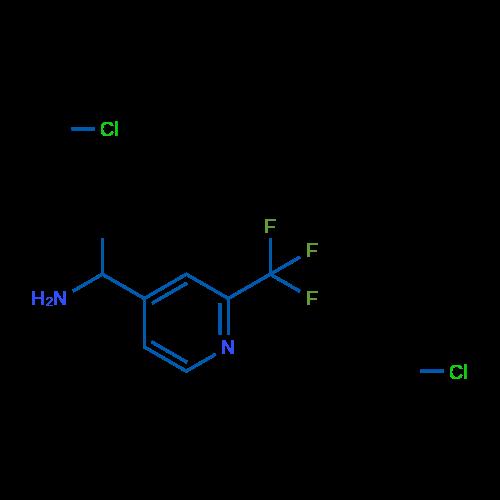 1-(2-(Trifluoromethyl)pyridin-4-yl)ethanamine dihydrochloride