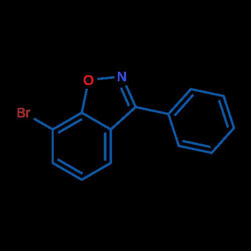 7-Bromo-3-phenylbenzo[d]isoxazole