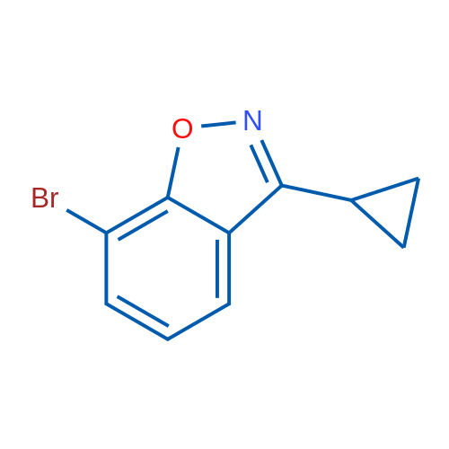7-Bromo-3-cyclopropylbenzo[d]isoxazole