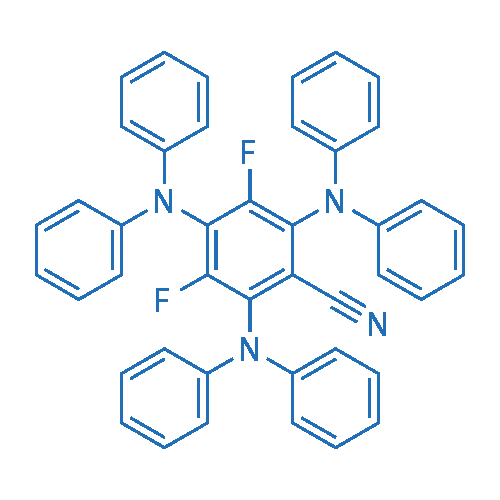2,4,6-Tris(diphenylamino)-3,5-difluorobenzonitrile