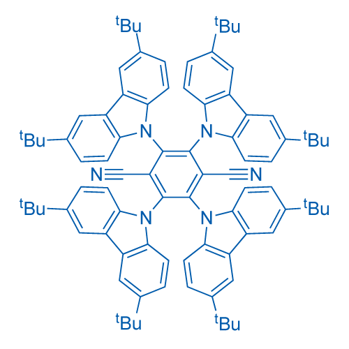 2,3,5,6-Tetrakis(3,6-di-tert-butyl-9H-carbazol-9-yl)terephthalonitrile