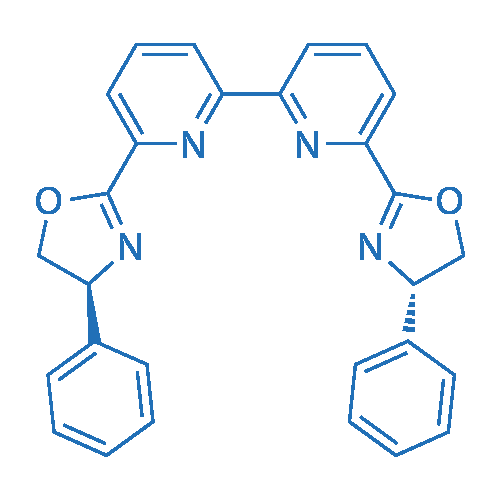 6,6'-Bis((S)-4-phenyl-4,5-dihydrooxazol-2-yl)-2,2'-bipyridine