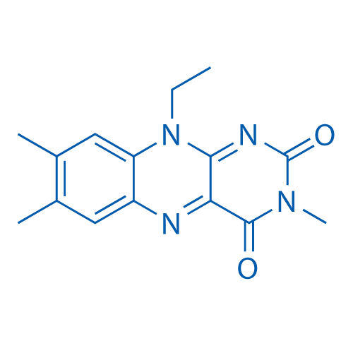 10-Ethyl-3,7,8-trimethylbenzo[g]pteridine-2,4(3H,10H)-dione
