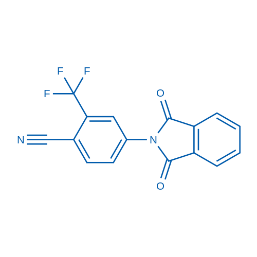 4-(1,3-Dioxoisoindolin-2-yl)-2-(trifluoromethyl)benzonitrile