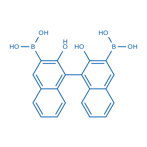 (2,2'-Dihydroxy-[1,1'-binaphthalene]-3,3'-diyl)diboronic acid