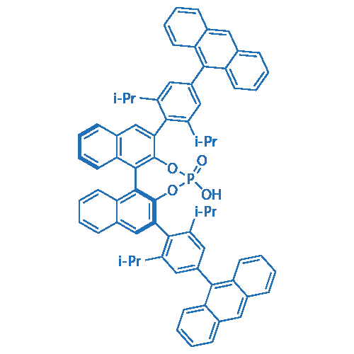 (11bS)-2,6-Bis(4-(anthracen-9-yl)-2,6-diisopropylphenyl)-4-hydroxydinaphtho[2,1-d:1',2'-f][1,3,2]dioxaphosphepine 4-oxide