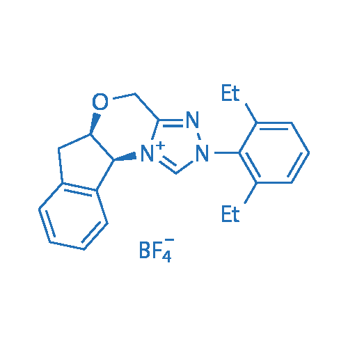 (5aR,10bS)-2-(2,6-Diethylphenyl)-4,5a,6,10b-tetrahydro-2H-indeno[2,1-b][1,2,4]triazolo[4,3-d][1,4]oxazin-11-ium tetrafluoroborate