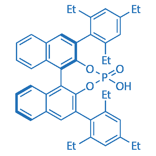 (11bR)-4-Hydroxy-2,6-bis(2,4,6-triethylphenyl)dinaphtho[2,1-d:1',2'-f][1,3,2]dioxaphosphepine 4-oxide