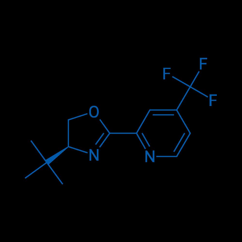 (S)-4-(tert-Butyl)-2-(4-(trifluoromethyl)pyridin-2-yl)-4,5-dihydrooxazole