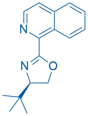 (R)-4-(tert-Butyl)-2-(isoquinolin-1-yl)-4,5-dihydrooxazole