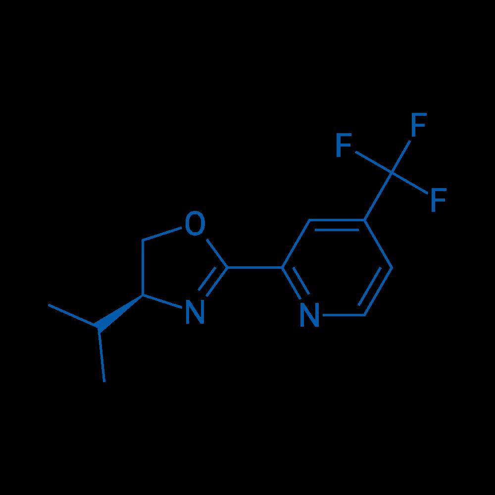 (S)-4-Isopropyl-2-(4-(trifluoromethyl)pyridin-2-yl)-4,5-dihydrooxazole
