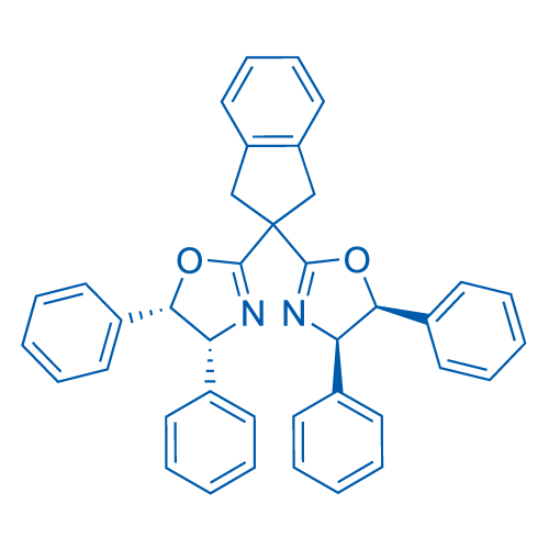 (4R,4'R,5S,5'S)-2,2'-(2,3-Dihydro-1H-indene-2,2-diyl)bis(4,5-diphenyl-4,5-dihydrooxazole)