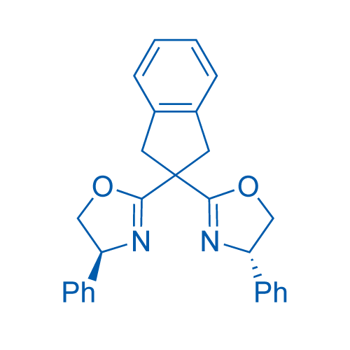 (4S,4'S)-2,2'-(2,3-Dihydro-1H-indene-2,2-diyl)bis(4-phenyl-4,5-dihydrooxazole)