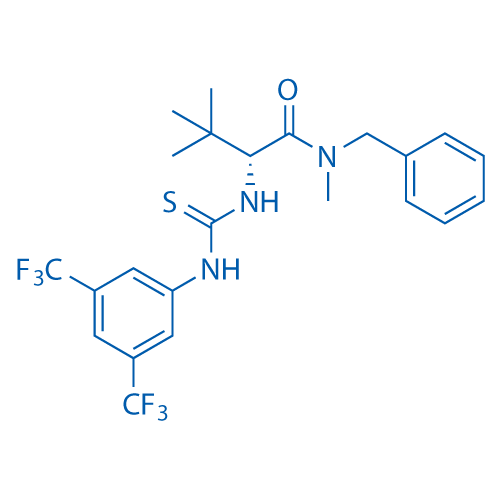 (R)-N-Benzyl-2-(3-(3,5-bis(trifluoromethyl)phenyl)thioureido)-N,3,3-trimethylbutanamide