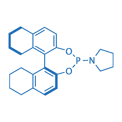 1-((11bS)-8,9,10,11,12,13,14,15-Octahydrodinaphtho[2,1-d:1',2'-f][1,3,2]dioxaphosphepin-4-yl)pyrrolidine