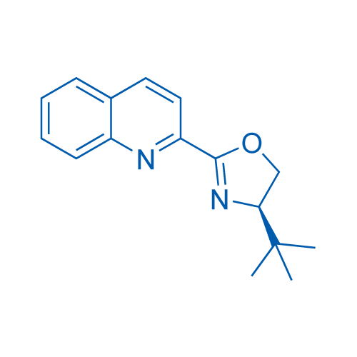 (R)-4-(tert-Butyl)-2-(quinolin-2-yl)-4,5-dihydrooxazole