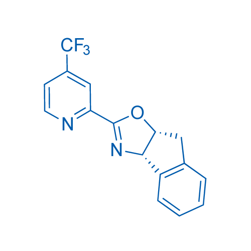 (3aS,8aR)-2-(4-(Trifluoromethyl)pyridin-2-yl)-3a,8a-dihydro-8H-indeno[1,2-d]oxazole