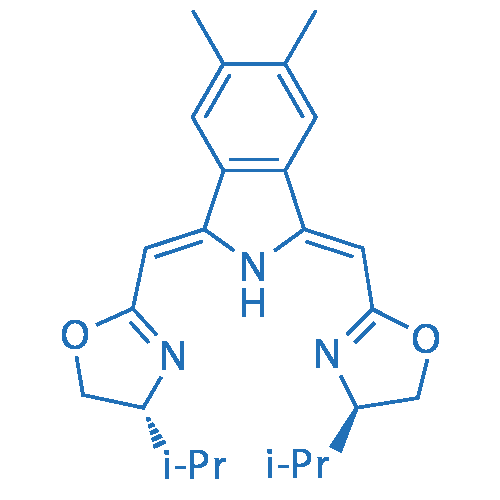 (4R,4'R)-2,2'-(((1Z,3Z)-5,6-Dimethylisoindoline-1,3-diylidene)bis(methanylylidene))bis(4-isopropyl-4,5-dihydrooxazole)