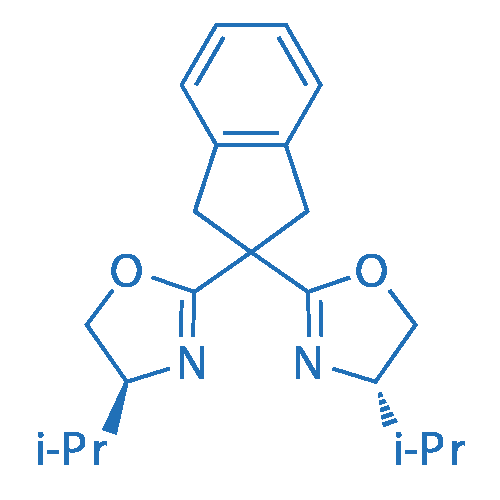 (4S,4'S)-2,2'-(2,3-Dihydro-1H-indene-2,2-diyl)bis(4-isopropyl-4,5-dihydrooxazole)