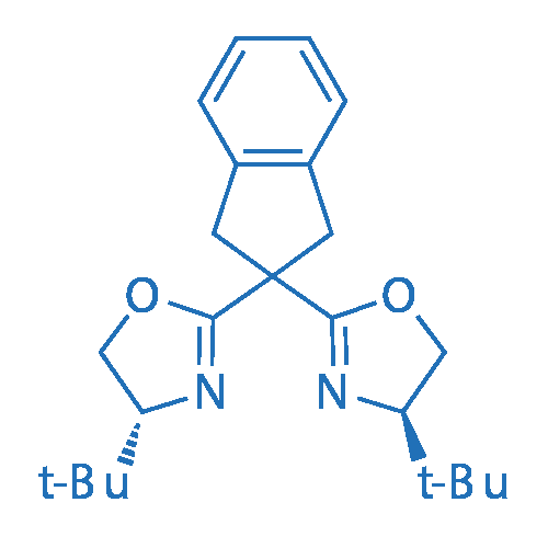 (4R,4'R)-2,2'-(2,3-Dihydro-1H-indene-2,2-diyl)bis(4-(tert-butyl)-4,5-dihydrooxazole)