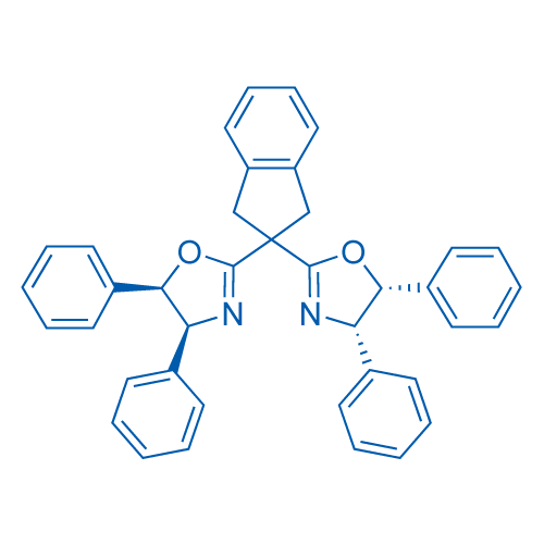 (4S,4'S,5R,5'R)-2,2'-(2,3-Dihydro-1H-indene-2,2-diyl)bis(4,5-diphenyl-4,5-dihydrooxazole)