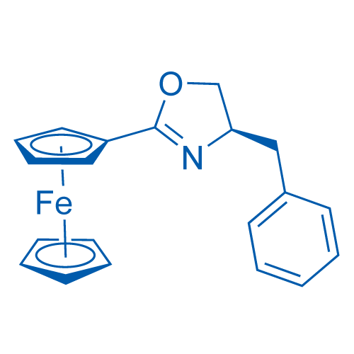 [(4R)-4,5-Dihydro-4-phenylmethyl-2-oxazolyl]ferrocene