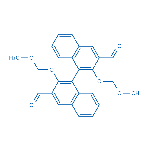 (S)-2,2'-bis-momo-3,3'-diformyl-1,1'-binaphthalene