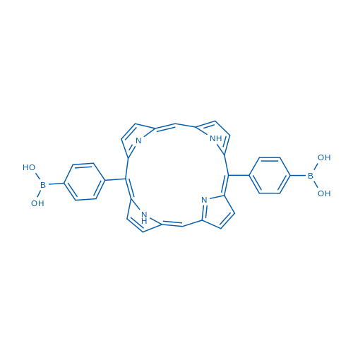 (Porphyrin-5,15-diylbis(4,1-phenylene))diboronic acid