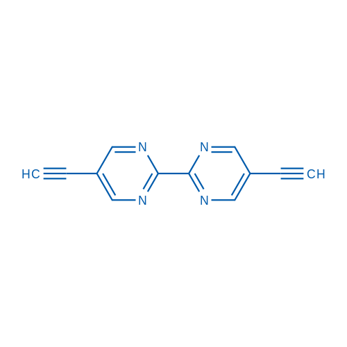 5,5'-Diethynyl-2,2'-bipyrimidine