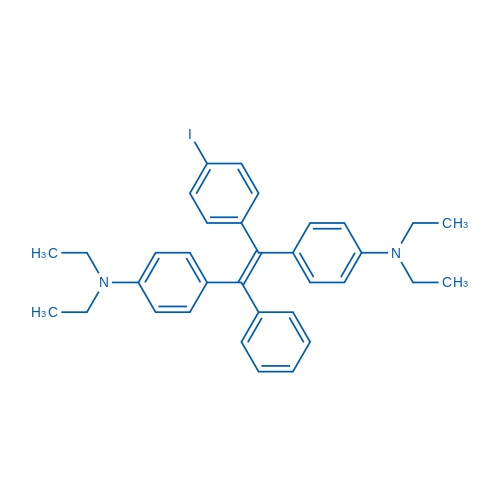 4,4'-(1-(4-Iodophenyl)-2-phenylethene-1,2-diyl)bis(N,N-diethylaniline)